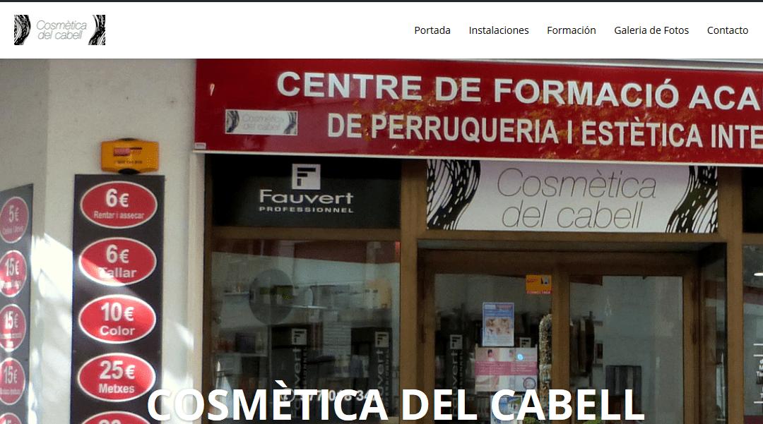 Presentación nueva página web