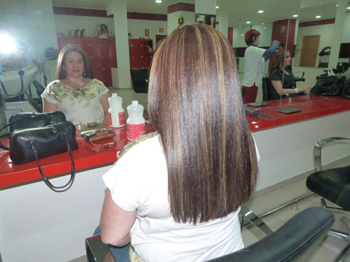 Peinados melena larga