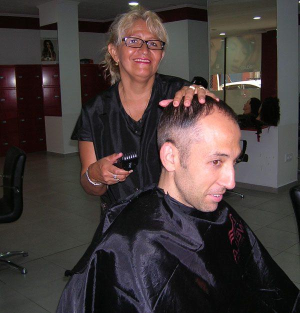 Corte de pelo de chico