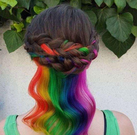 tinte arco iris