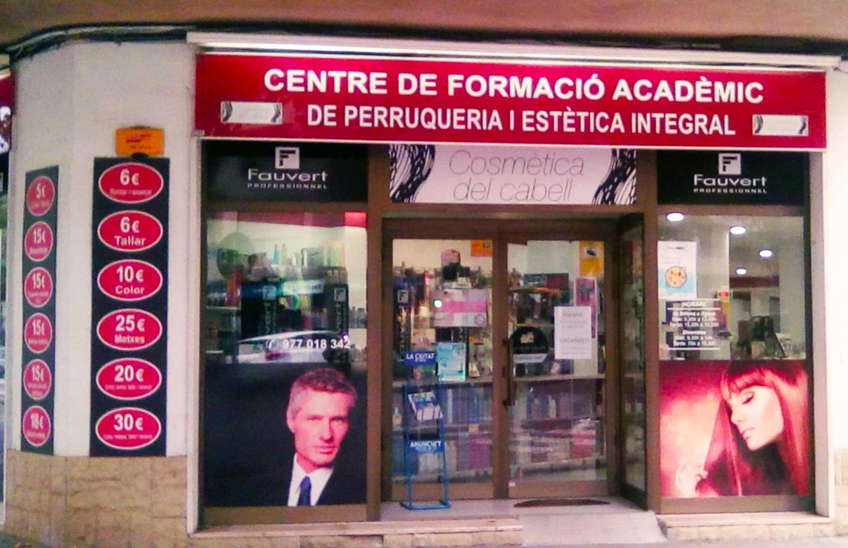 academia peluqueria en Salou