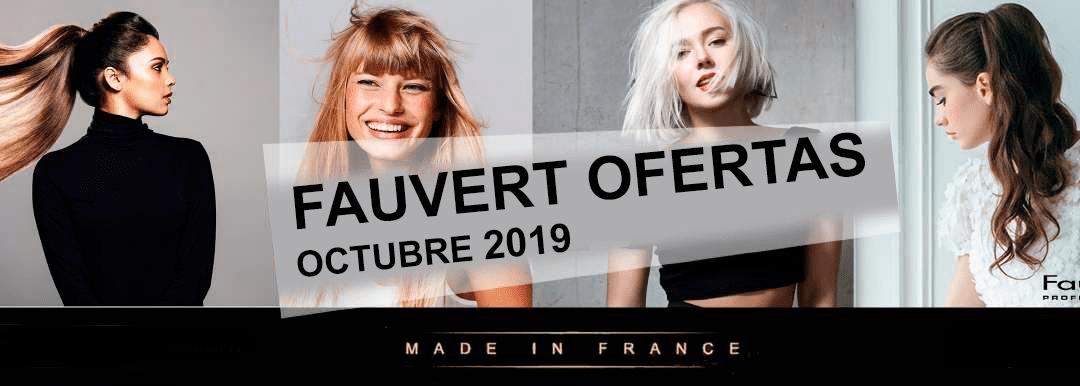 Ofertas productos de peluquria Fauvert Octubre 2019