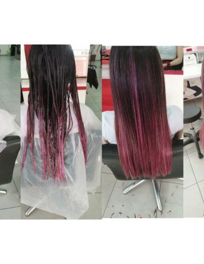 tinte de pelo peluquería en Reus
